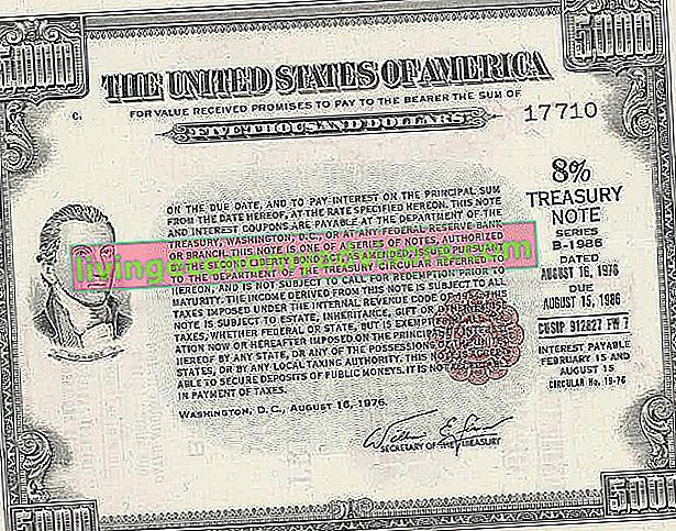 Was ist die 10-jährige US-Schatzanweisung?