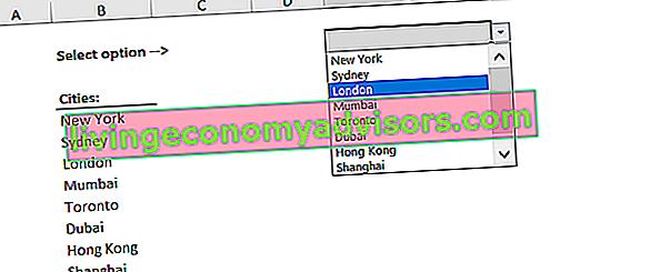 Vad är en rullgardinslista för Excel?