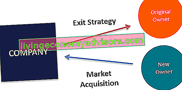 Business-Exit-Strategiediagramm