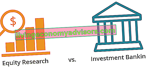 Equity Research vs Investment Banking Diagramm
