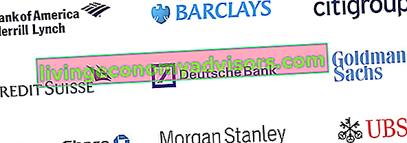 Bulge Bracket Bank Logos