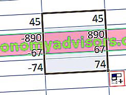 Was ist die ABSOLUTE Funktion in Excel (ABS)?